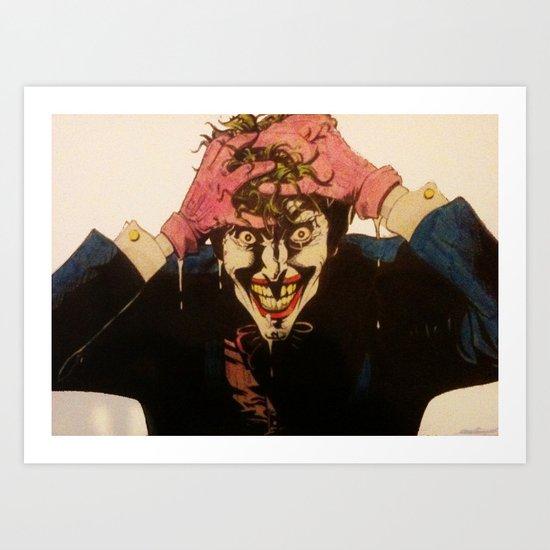 Joker HAHAHA Art Print