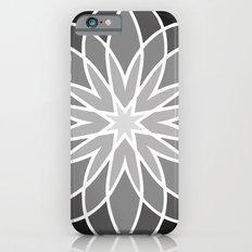 Shades of Grey   Geometric Pattern iPhone 6s Slim Case