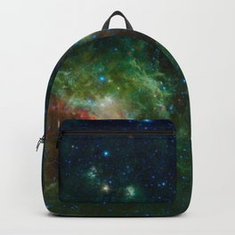 The Heart and Soul nebulae (NASA's Wide-field Infrared Survey Explorer) Backpack