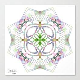 Quarantine kaleidoscope  Canvas Print