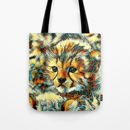 AnimalArt_Cheetah_20170602_by_JAMColorsSpecial Tote Bag