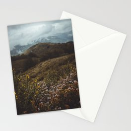 Wildflowers in autumn Stationery Cards