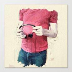 Color Study 2 - torso Canvas Print