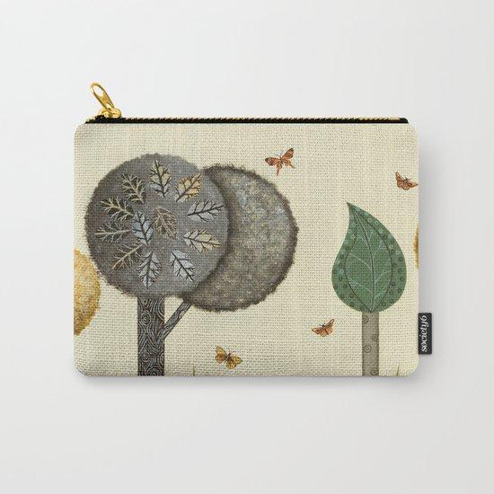 Autumn Butterflies Carry-All Pouch