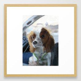 Bacio Framed Art Print