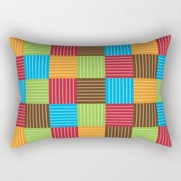 Festive Color Weave Rectangular Pillow