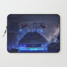 Building the time machine Laptop Sleeve