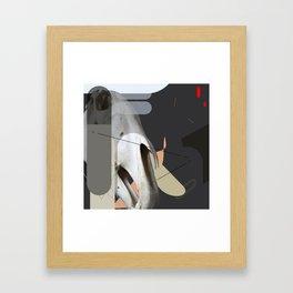 gdhdgh Framed Art Print