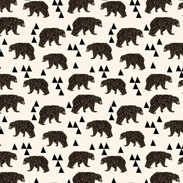 Geo Bear by Andrea Lauren Leggings
