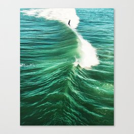 Foil Surf Canvas Print