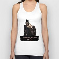 swan queen Tank Tops featuring Swan Queen Team by Geek World