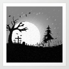 Nightmare Scenery Art Print