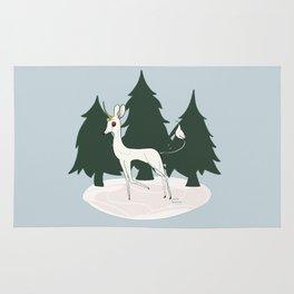 Winter Unicorn Rug