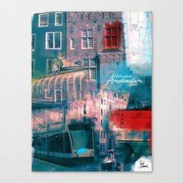 Amsterdam Lover Canvas Print