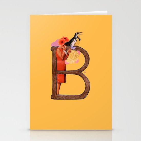 """A TO Z - """"B"""" Stationery Cards"""