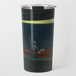 NIGHTHAWKS - EDWARD HOPPER Travel Mug