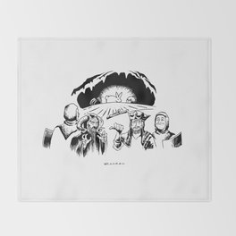 Monty Python: Killer Rabbit Throw Blanket