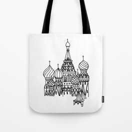 Around the World - Moscow Tote Bag