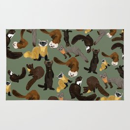 Martens of the World #1 Rug