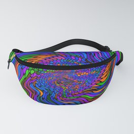 Electric Wave Fanny Pack