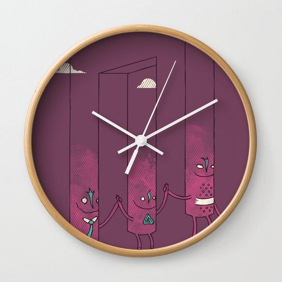 The Belvederes Wall Clock