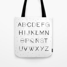 Craft Font Tote Bag