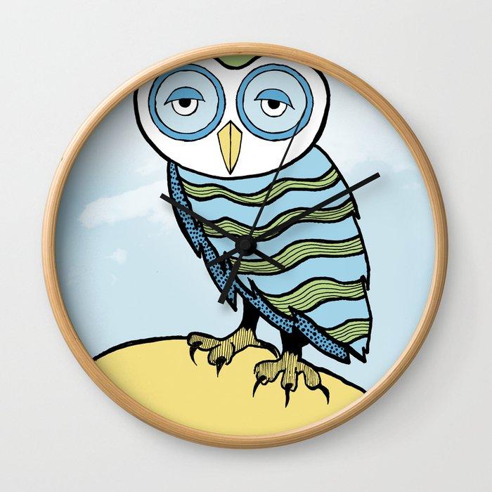 AL the Owl Wall Clock