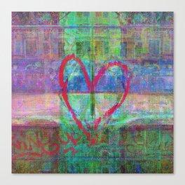 For when the segmentation resounds, abundantly. 14 Canvas Print