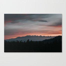 Mountainscape - Landscape and Nature Photography Canvas Print