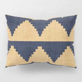 Lash in Blue and Gold Pillow Sham