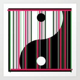 Yang+Candy Art Print