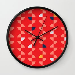 Geometric Pattern #2 Wall Clock