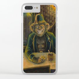 Lester Dines At The Mai Kai Clear iPhone Case