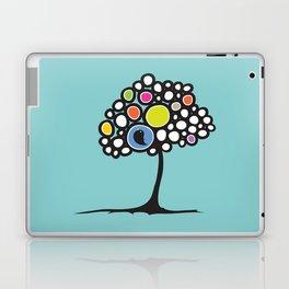 Bird on a tree Laptop & iPad Skin