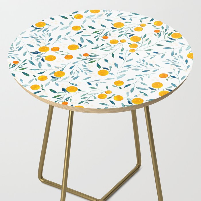 Orange Tree Side Table