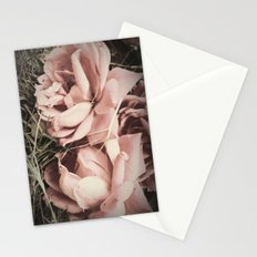 old time roses Stationery Cards