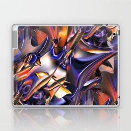 Iridescent Copper Metallic Patina Abstract Laptop & iPad Skin