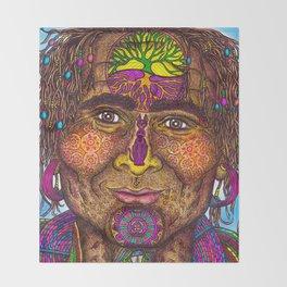 Wisdom Keeper Color #40 (Resolve) Throw Blanket