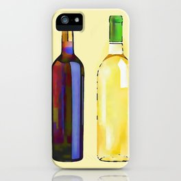 Let's Have Some Wine iPhone Case