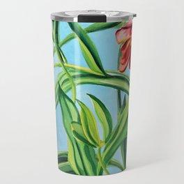 Happy Tulips Travel Mug