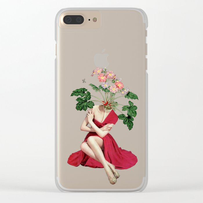 In Season Clear iPhone Case