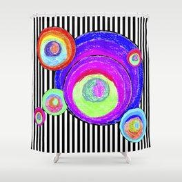 My inner secret geometry | by Elisavet #society6 Shower Curtain
