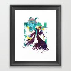 TOKEN Framed Art Print