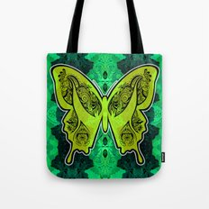 Henna Butterfly No. 4 Tote Bag
