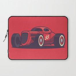 GAZ GL1 Custom Vintage Hot Rod Classic Street Racer Car - Red Laptop Sleeve