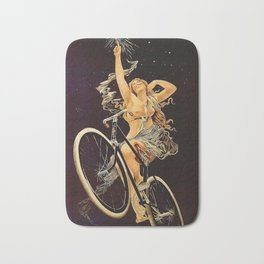 Vintage 1899 Cycles Sirius Bicycle Ad Bath Mat