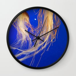 Cute Jellyfish Wall Clock