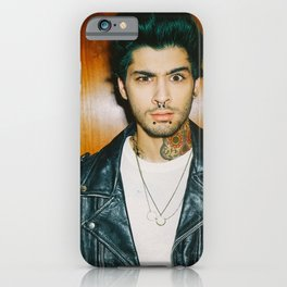 Zayn Malik Punk Edit iPhone Case