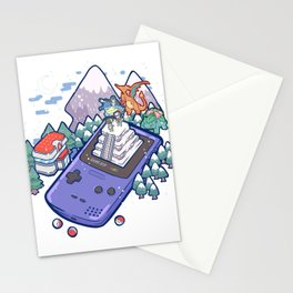 Pocket Monsters 2 - Mount Silver Stationery Cards
