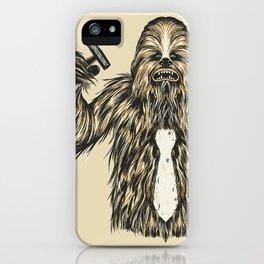 Chewie I Hate Mondays SW iPhone Case